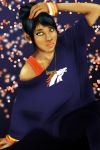 Bronco Girl by LilArtist23
