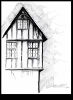 Half Timber House by nemesisenforcer