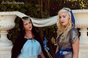 Moon Maidens by MysticalCapture
