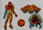 Metroid by stefano-roca