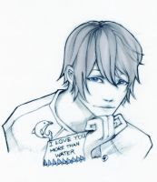 More than water - haru by unsolvedenigma