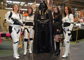 Darth Vader and Femtroopers at Memorabilia 2012 by masimage