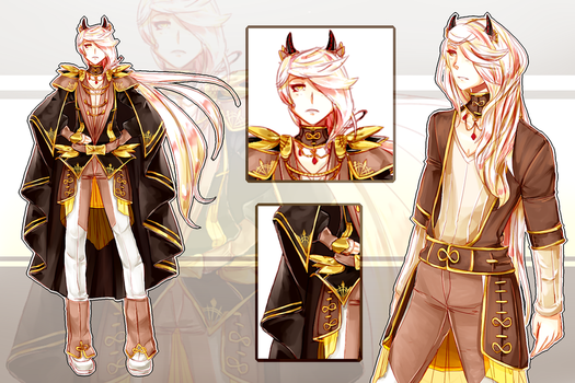 [CLOSED] Demon Prince [AUCTION|AB ADDED] by Riccasze