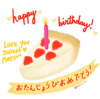 Birthday wish for Matsuo - April 2012 by beyourpet