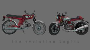 honda evolution by erahmats