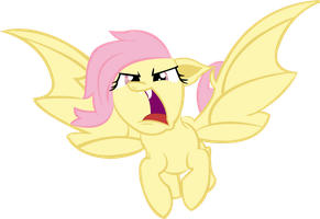 Flutterbat Flying Vector by Cr4zyPPL