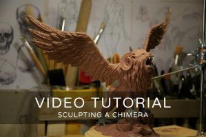 How To Sculpt a Chimera (Video Tutorial) by LisaSchindler