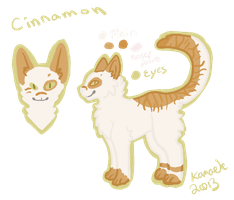 Cinnamon Reference Sheet by Kama-ItaeteXIII