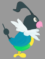 chatot by TopHatless