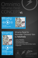 Winamp Omnimo-Panel Concept by Crussong