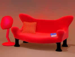 The devil's couch II by kratzdistel