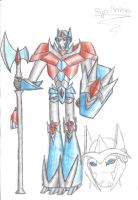 Ryo Prime coloured by TFP-Starfall