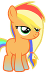 AJ x RD shipping adoptable (CLOSED) by MLP-Midnight-Flare