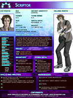 Scriptor profile by Atey