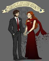 at Uncle Edmure's Wedding by sketchditto