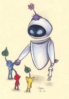 Eve meets the Pikmin by who-stole-MY-name