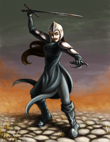 Lydia, Hand of Avadon by Petrichora
