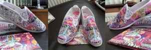 Maroon 5 Overexposed Shoes by Ruriko-kyou