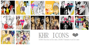 KHR icon pack by KillerOMeganekko
