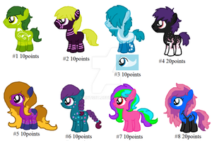 Misc. Adopts (CLOSED) by PaintSet