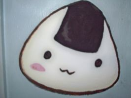 Wall Painting - Onigiri by Maplemay