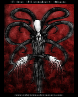 The Slender Man by RubyRedux