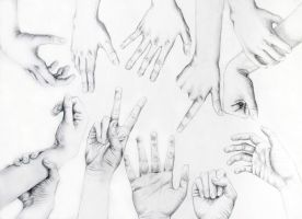Hand Study by decomposerdoll