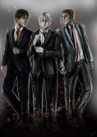 Bad Touch Trio ...Suit up! by GsTishi