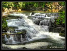 Lovers Falls by Dracoart