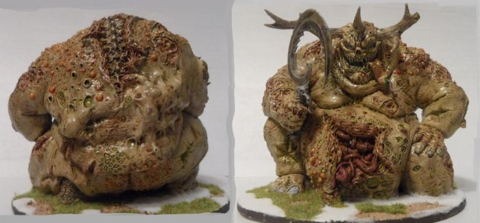 Great Unclean One. Front and back by Dible