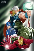 Avengers by lorddeimons