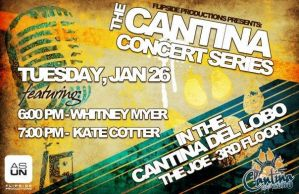 Cantina Concert Series by caitlinajohnson
