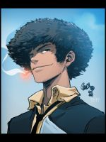 Spike Spiegel Portrait by MastaHicks