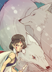Princess Mononoke by Jeongkuk