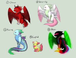 [GIVEAWAY -- WINNERS] Candypup Adoptables by KeiAdoptables