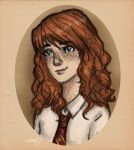 Rose Weasley by incredibru