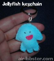 Jellyfish Keychain by airlobster