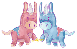 Balloonicorns by Miles-The-Sniper