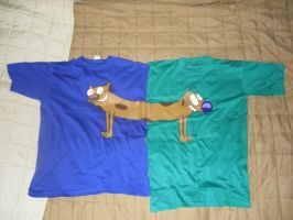 catdog t-shirts by digitalmon