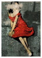 The Red Dress no.4 by CrimesAgainstArt