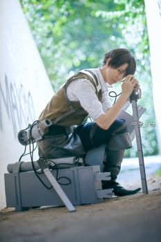 Levi - A choice with no regrets. by Black--Deamon