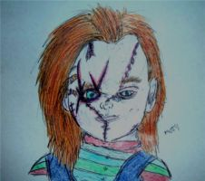 .:Chucky:.  Colour Ver. by mrs-voorhees09