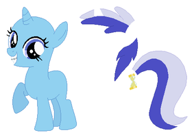 Filly Minuette Base by SelenaEde