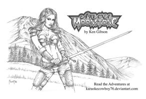 Ken Gibson's Ariana Moonstone by MitchFoust