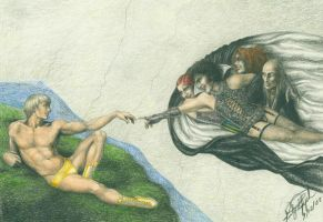 The Creation of Rocky by love-and-commissions