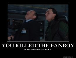Loki Killed The Fanboy by PerryTheTeenageGirl