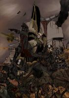 Death Korps of Krieg by cthulhuweberiano