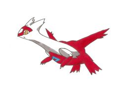 Latias by Naraktraheke