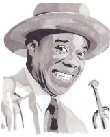 Louis Armstrong by paradox1982