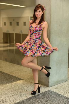 Sweet Little Dress by Biseuse